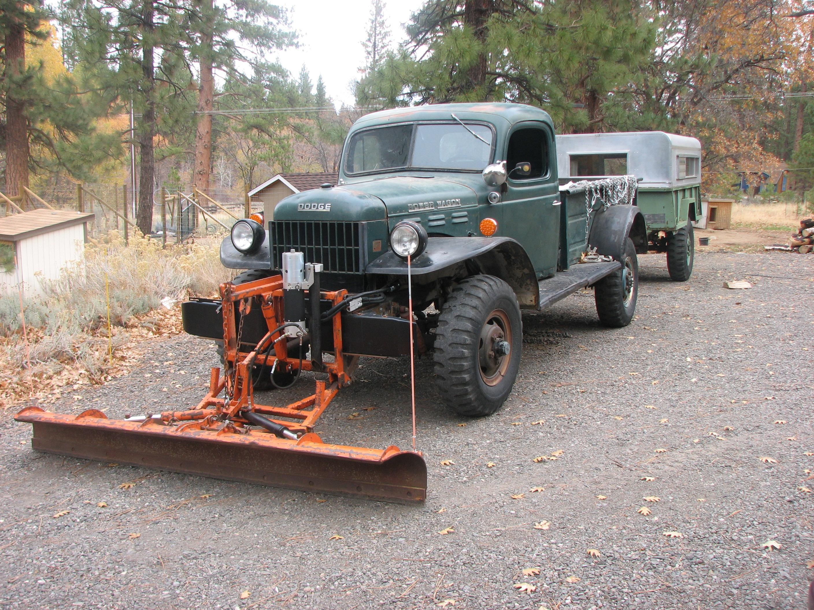 Reliable 1958 Dodge Power Wagon