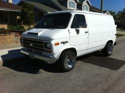 gagnes 1995 Chevrolet Van 