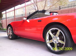 99diamondwites 1993 Chevrolet Corvette