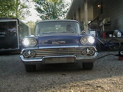 McGill-racins 1958 Chevrolet Bel Air