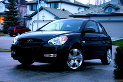 HUNDAY 2008 Hyundai Accent