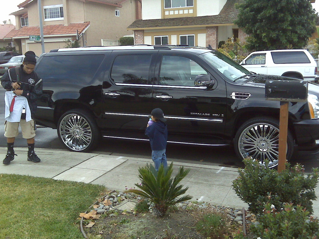 badd340 2008 cadillac escalade specs photos modification. Black Bedroom Furniture Sets. Home Design Ideas