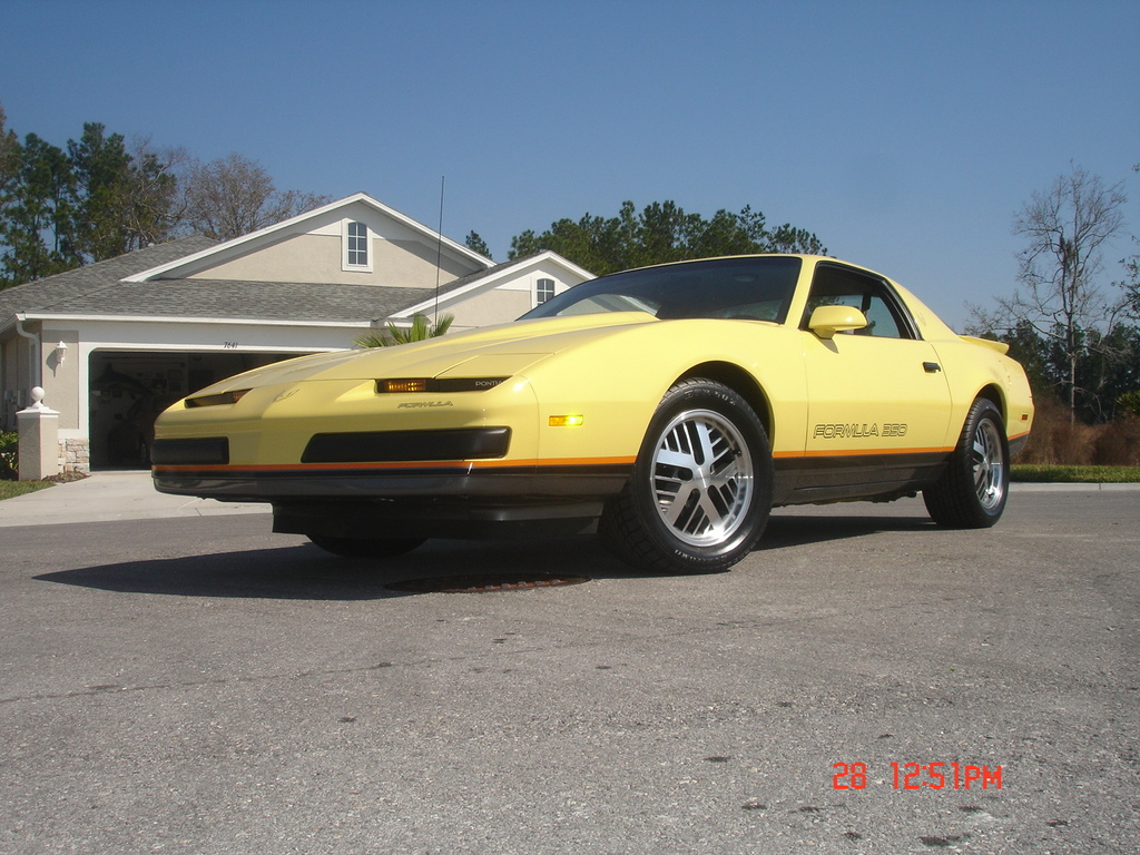 Im4darush 1987 Pontiac Firebird Specs Photos Modification Info At Cardomain