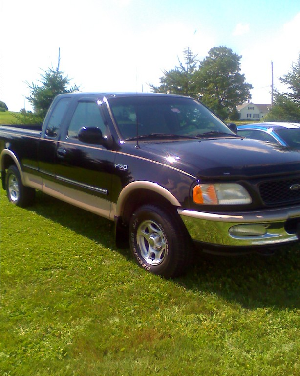 dstang 39 s 1997 ford f150 regular cab in caribou me. Black Bedroom Furniture Sets. Home Design Ideas