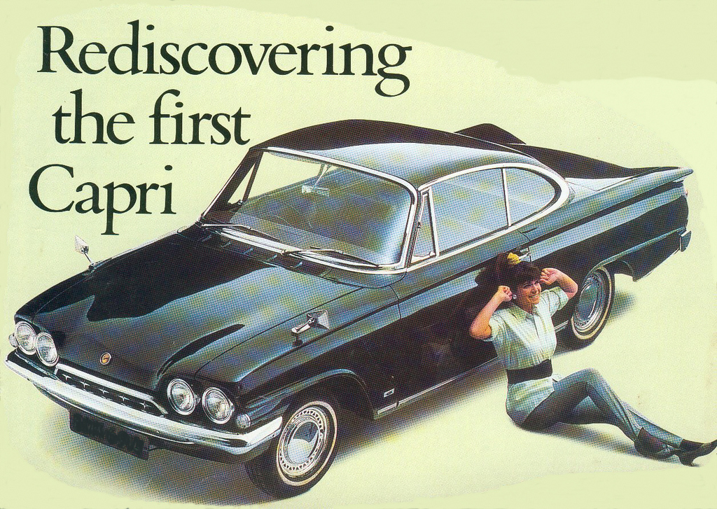 Old-Speed 1962 Ford Capri