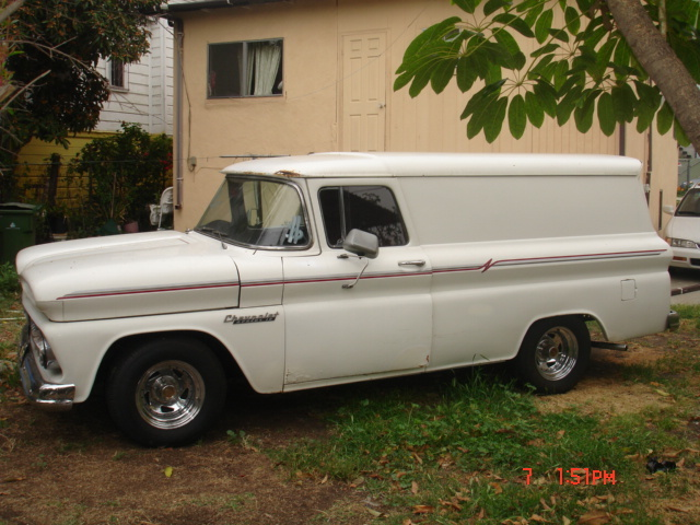 benpanel's 1960 Chevrolet Panel Van