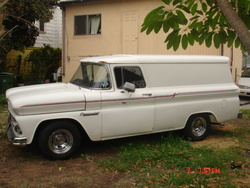 benpanel 1960 Chevrolet Panel Van