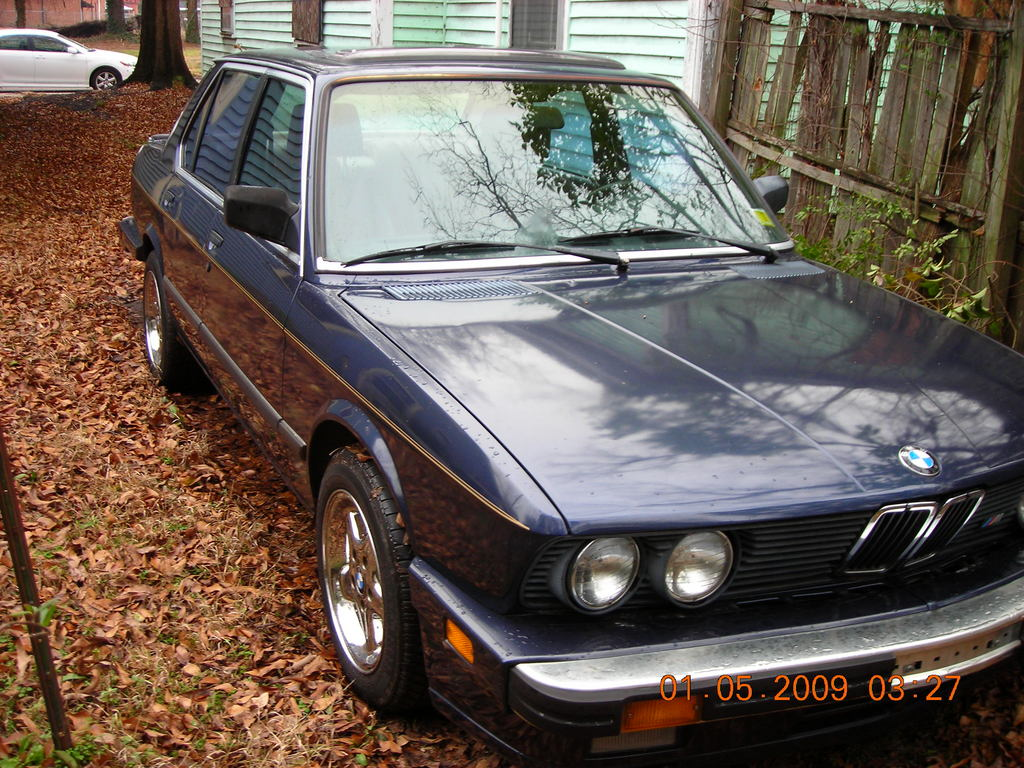 bimmerman46 1987 BMW 5 Series