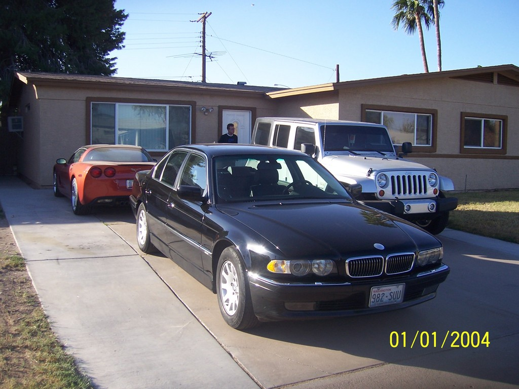 TheDude22 2001 BMW 7 Series