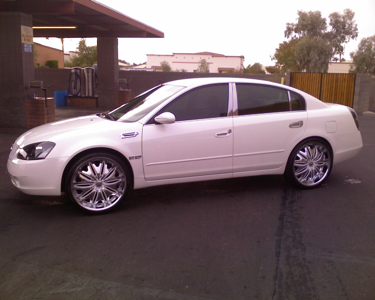 Another azsickest 2004 nissan altima post photo 12463575 white and crome 22 inch velocity wheels im back in the game vanachro Choice Image