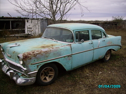 25Bedfords 1956 Chevrolet 150