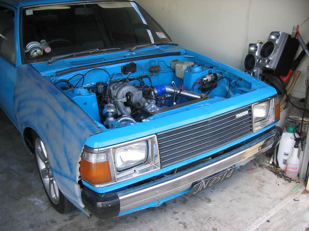 Another Lowass 1980 Mazda 323 post... - 12466371