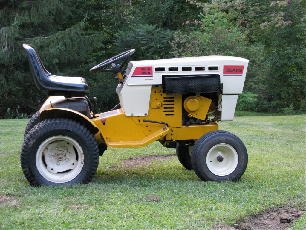 1977 sears 18 6 16 6 for sale tractor forum for Sears garden tractor