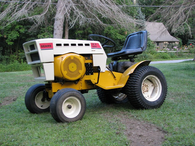 1974 Sears Garden Tractor : Sears for sale tractor forum