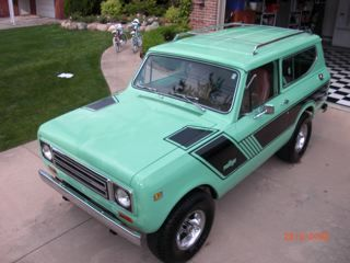 MintGreenScout's 1979 International Scout II