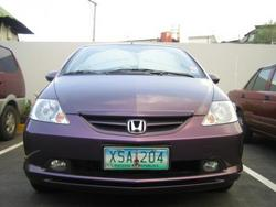 HondaSX8 2005 Honda City