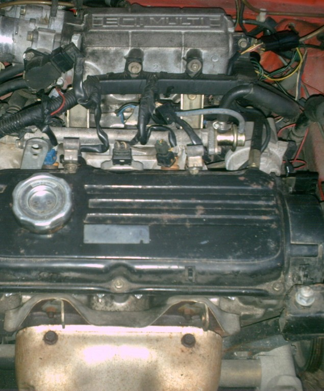 1994 Hyundai Excel Camshaft: [Replace Valve Cover On A 1994 Hyundai Excel]