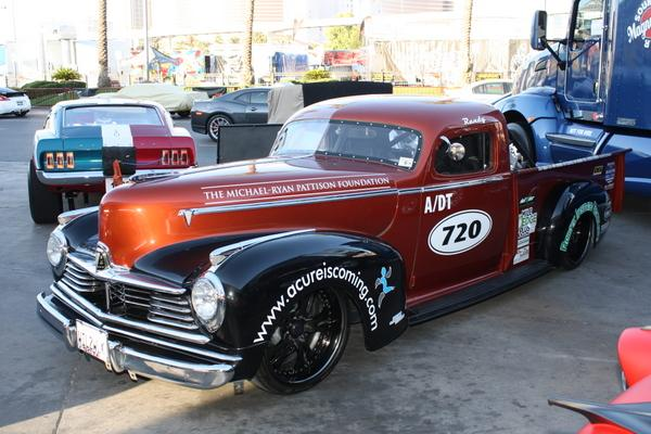 2009 1947 Hudson Pickup With Power Stroke Diesel Engine Swap Depot