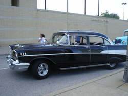 0364clocks 1957 Chevrolet Bel Air