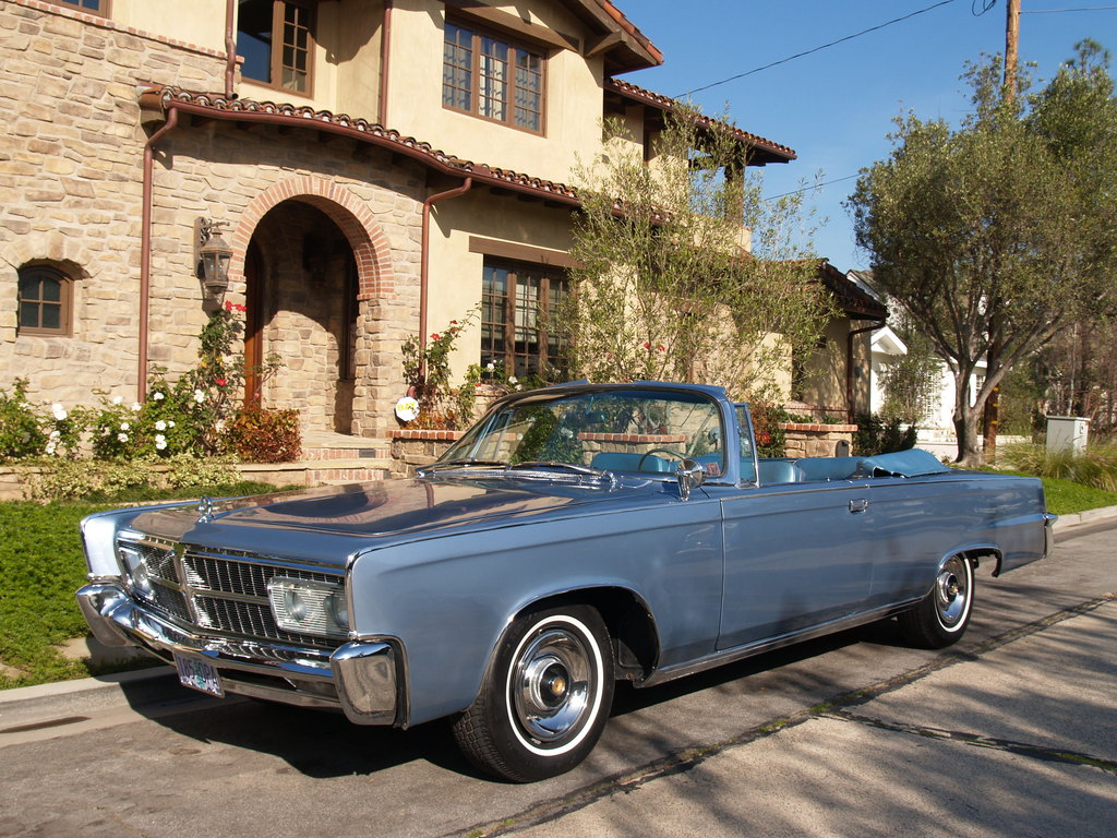 1965 Chrysler Imperial on jaguar xke modifications