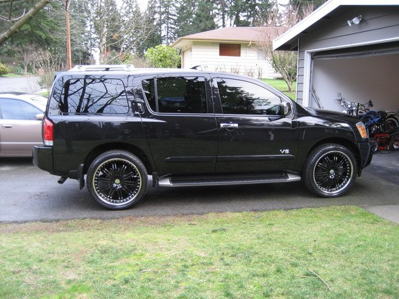 2004 nissan armada black 200 interior and exterior images. Black Bedroom Furniture Sets. Home Design Ideas