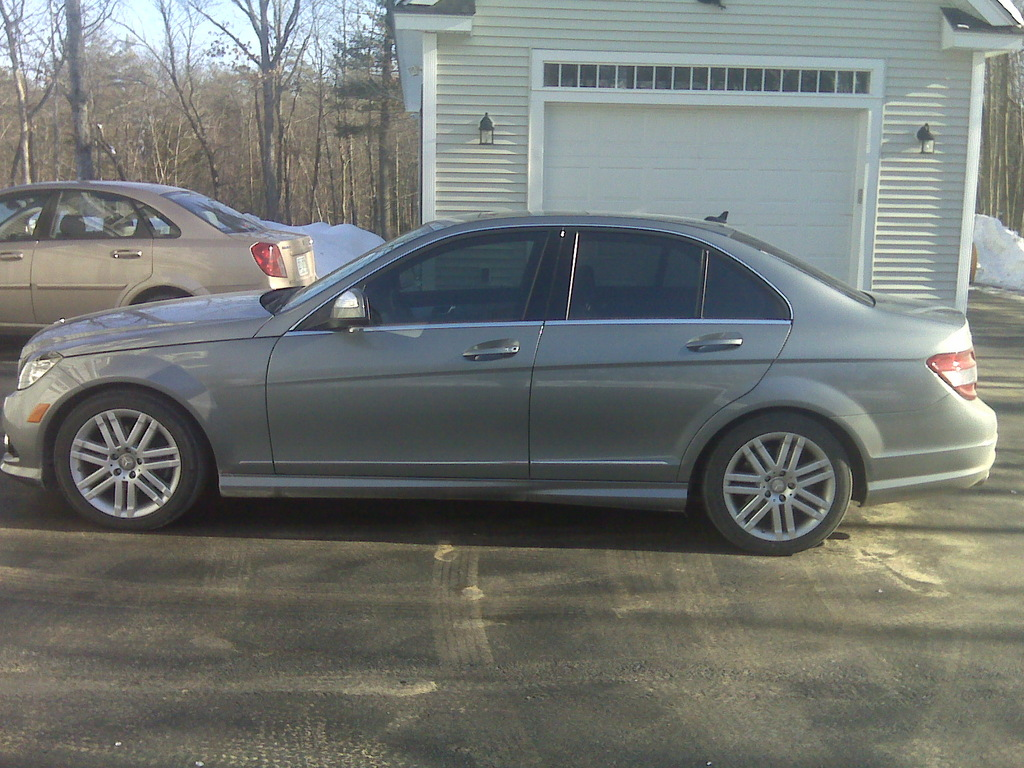 ALL4MEG 2008 Mercedes-Benz C-Class 12494876