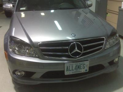 ALL4MEG 2008 Mercedes-Benz C-Class 12494878