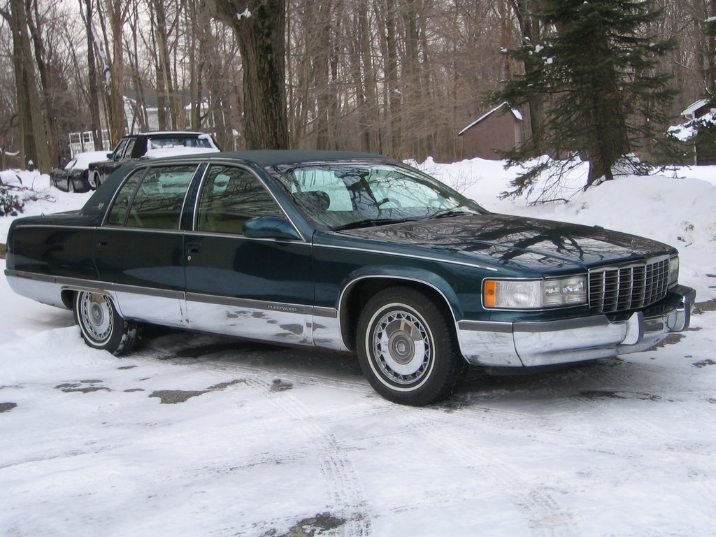 Americanluxury 1995 Cadillac Fleetwood Specs Photos