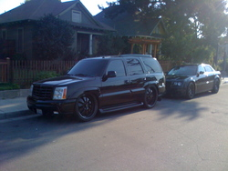 MurderedOn24ss 2003 Cadillac Escalade