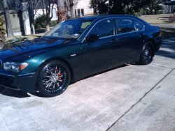 4doordropers 2004 BMW 7 Series