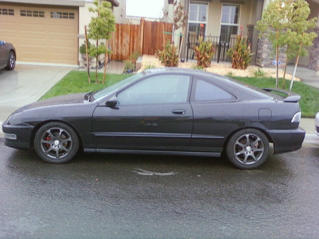 Large on Integra Gsr Coilover