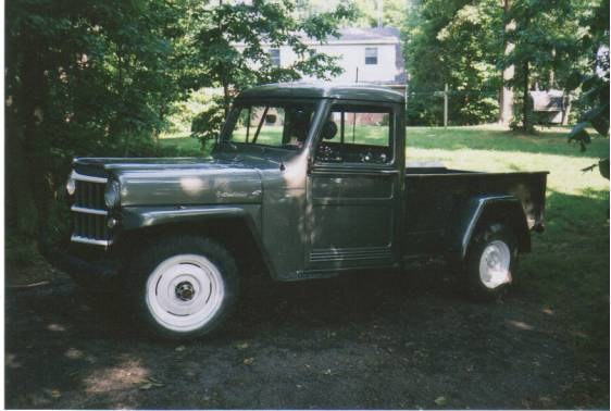 mylittlewilly's 1956 Willys Pickup