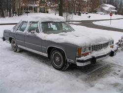 CrownVic1984 1984 Ford LTD Crown Victoria