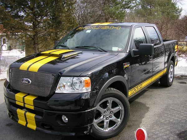 mitsubitchy 2006 ford roush f 150 specs photos modification info at cardomain. Black Bedroom Furniture Sets. Home Design Ideas