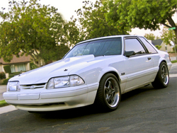 WhiteLX 1992 Ford Mustang