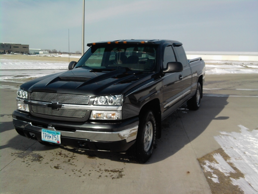 98dakindover 2004 chevrolet silverado 1500 extended cab. Black Bedroom Furniture Sets. Home Design Ideas