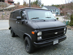 u_9six 1989 Chevrolet Van