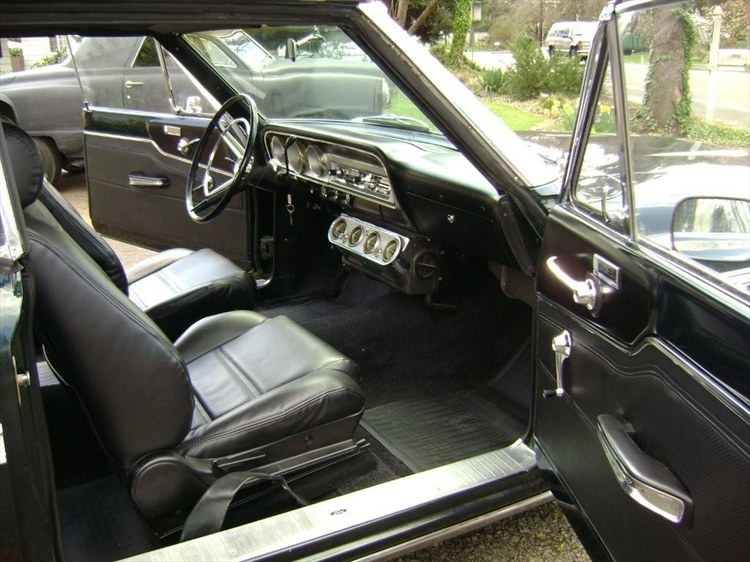 This is the interior of the