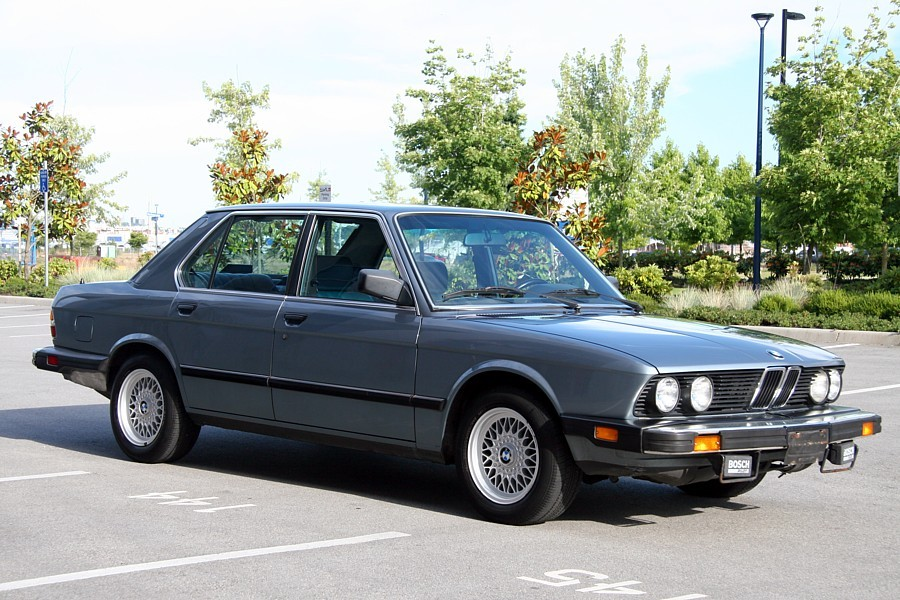 Another moahiz 1987 BMW 5 Series post... - 12574253