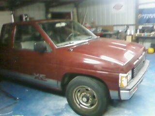 chikinflipin 1987 Nissan Regular Cab 12576055
