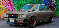 THEsuperboosted 1977 Toyota Corona