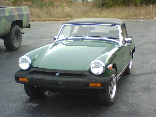 Are sweet mg midget service can't that buddy