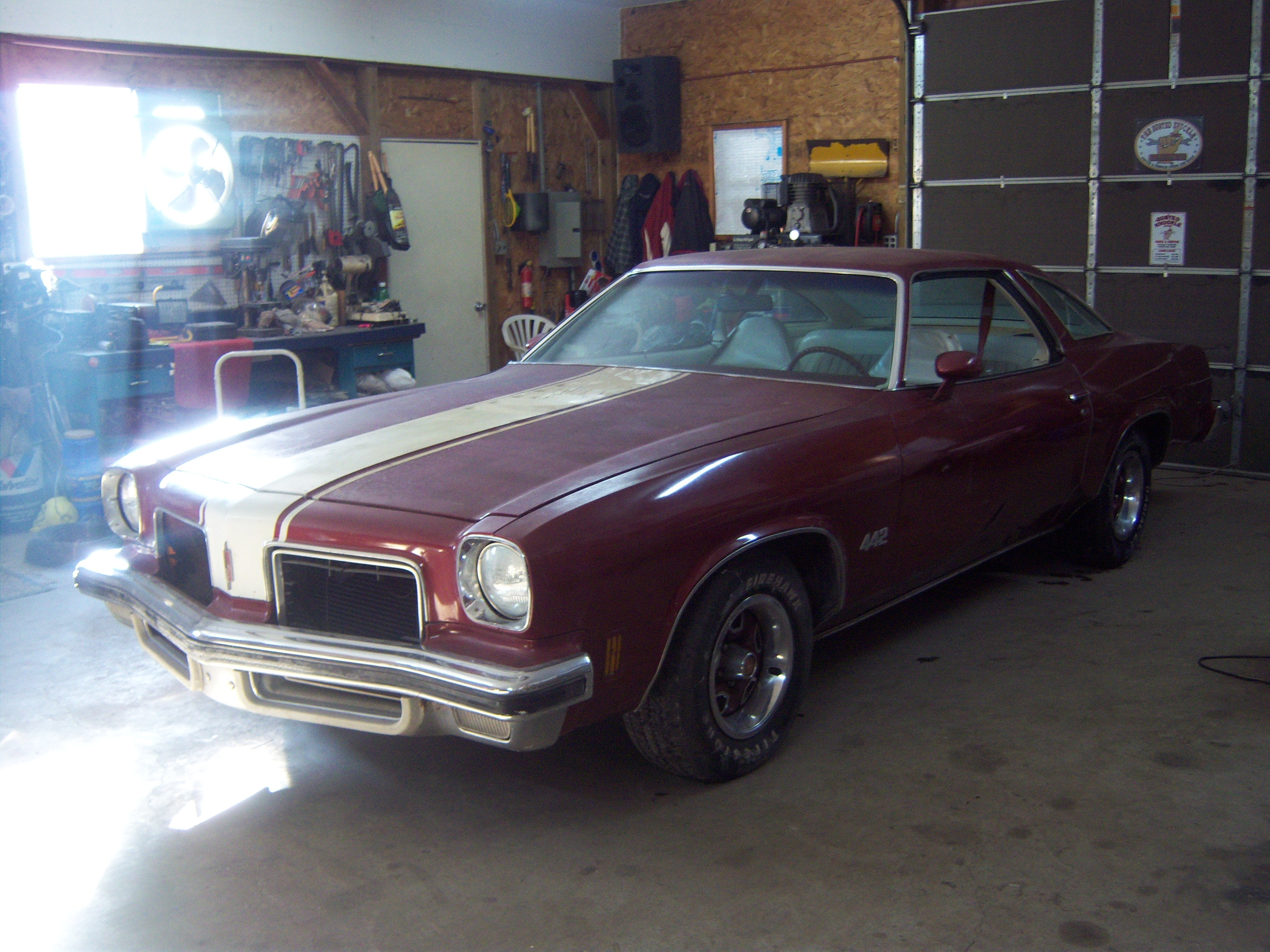 Another convtoyota 1974 Oldsmobile 442 post... - 12616724