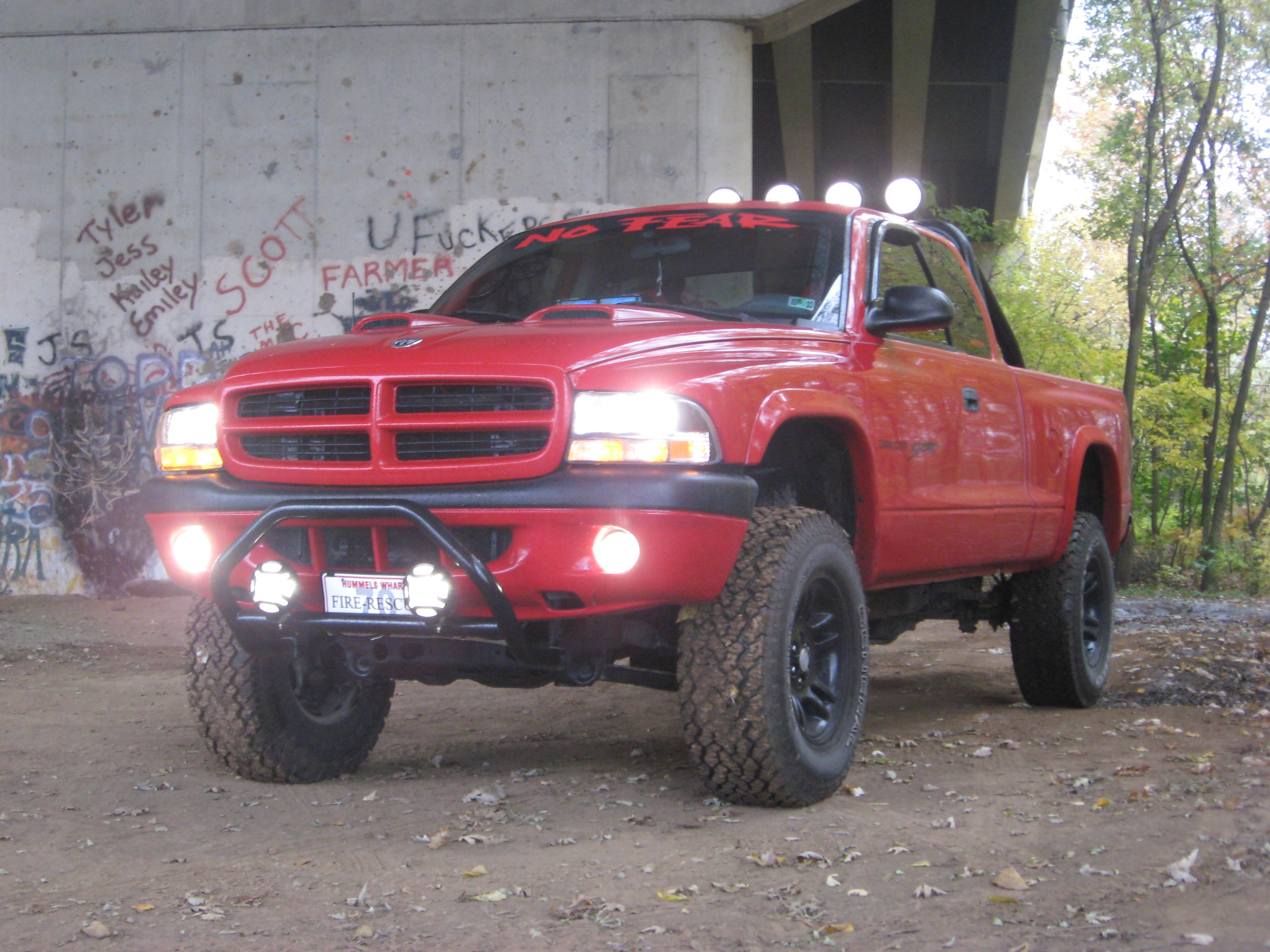 Original on 2001 Dodge Dakota Lifted