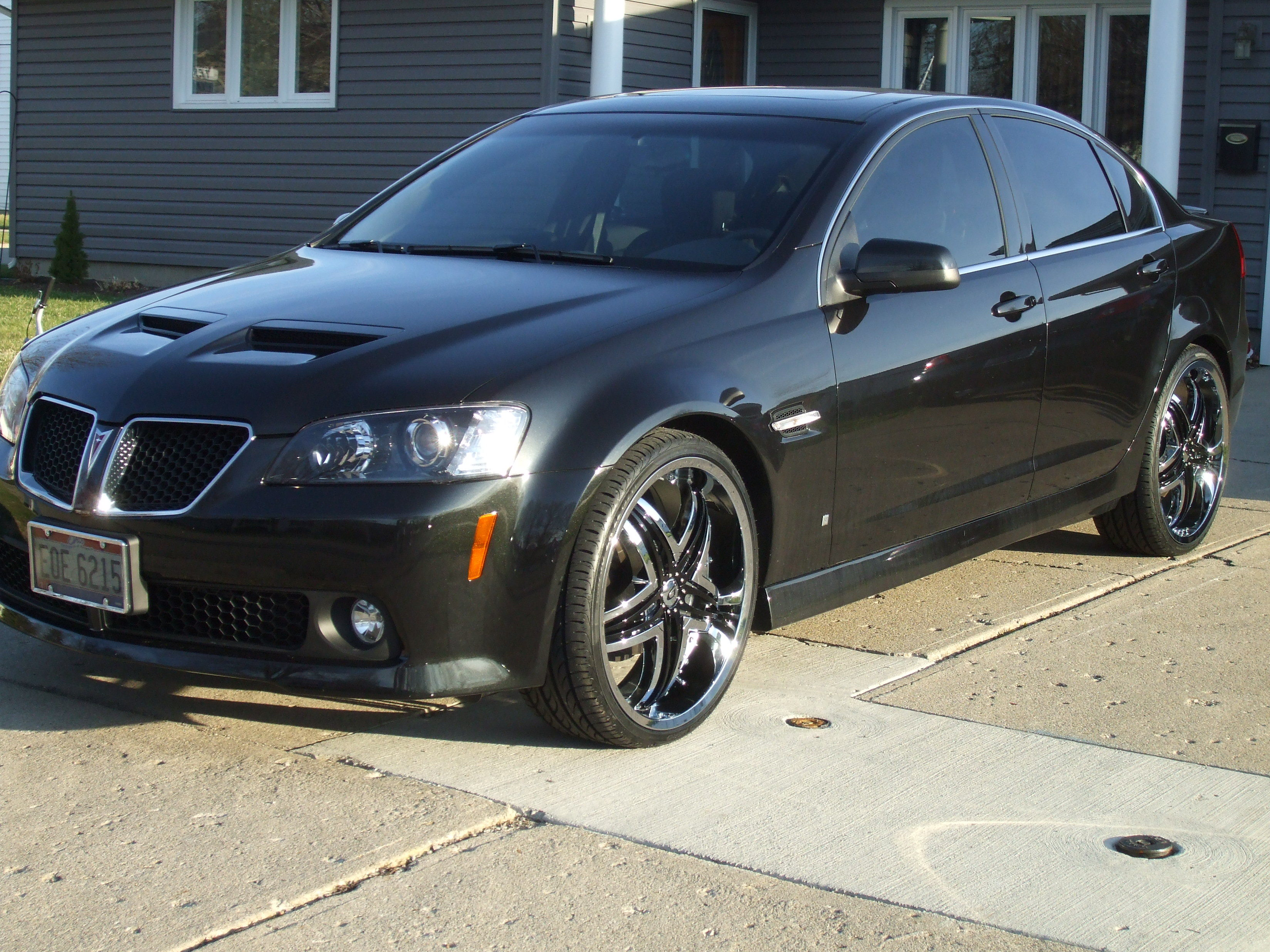 Shaneg35 2008 Pontiac G8 Specs Photos Modification Info