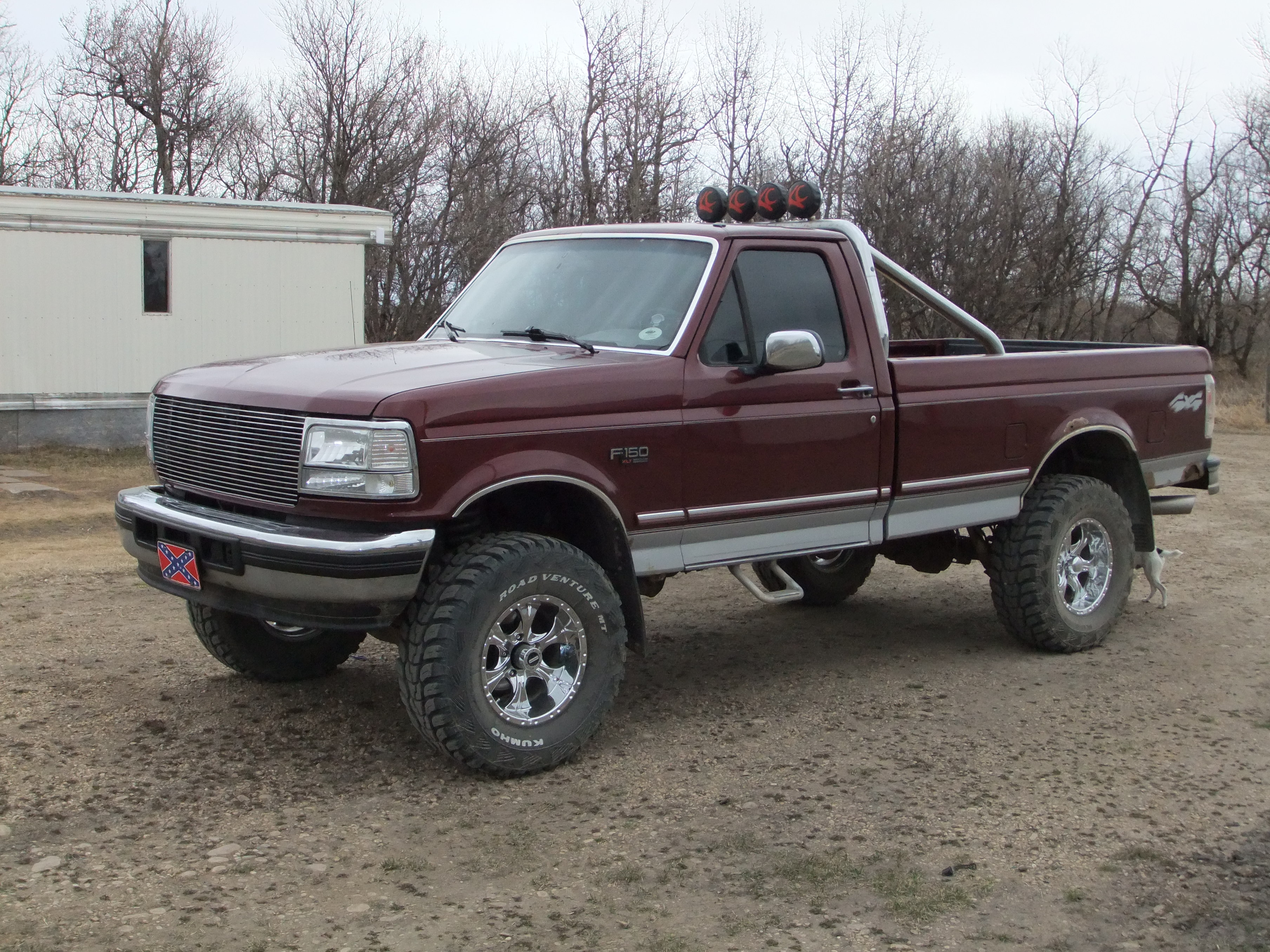hicktown 96 1996 ford f150 regular cab specs photos modification info at cardomain. Black Bedroom Furniture Sets. Home Design Ideas
