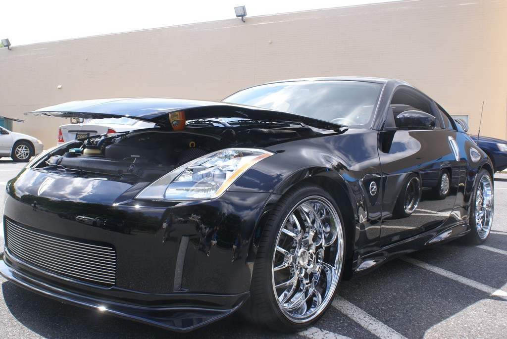 kustomz03 2003 nissan 350z specs photos modification. Black Bedroom Furniture Sets. Home Design Ideas
