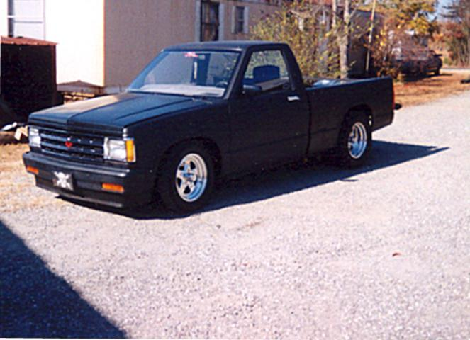 Large on 1984 Chevy S10