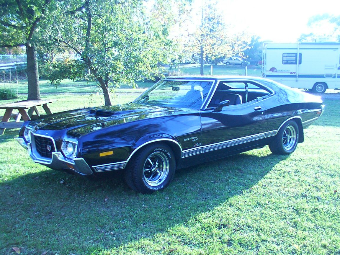 guilf1 1972 ford gran torino specs photos modification. Black Bedroom Furniture Sets. Home Design Ideas