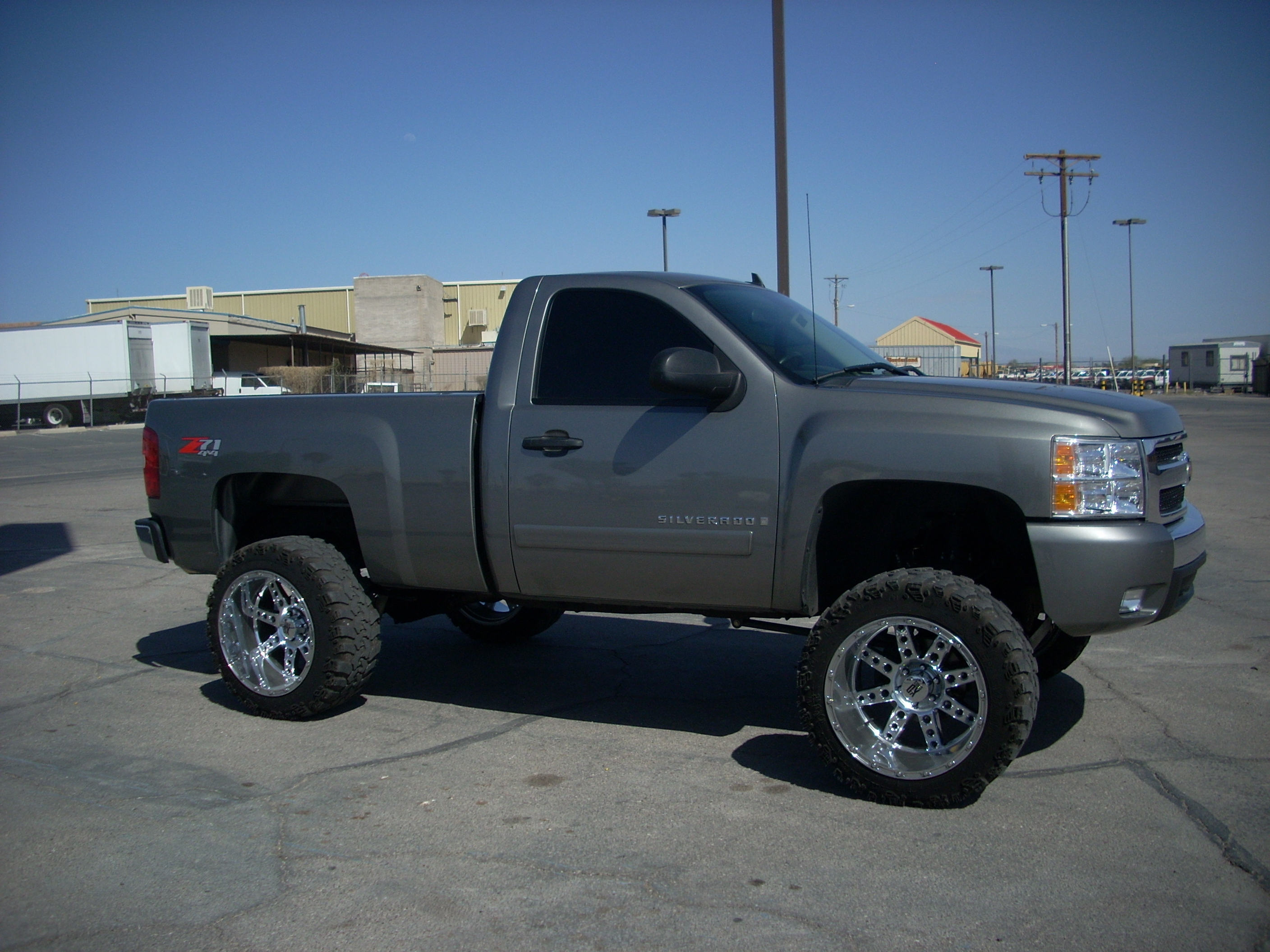 idcaf 2007 chevrolet silverado 1500 regular cab specs. Black Bedroom Furniture Sets. Home Design Ideas